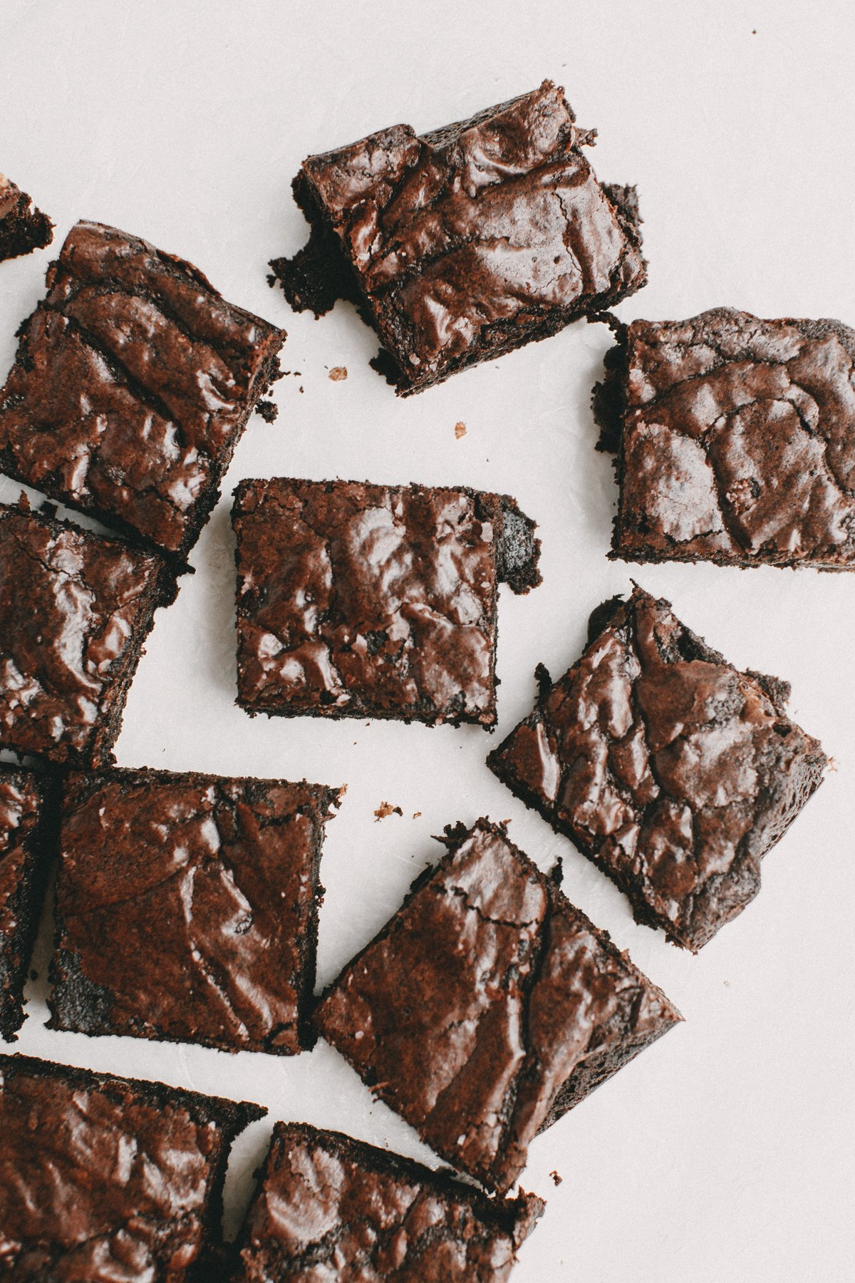 dark chocolate brownies from scratch