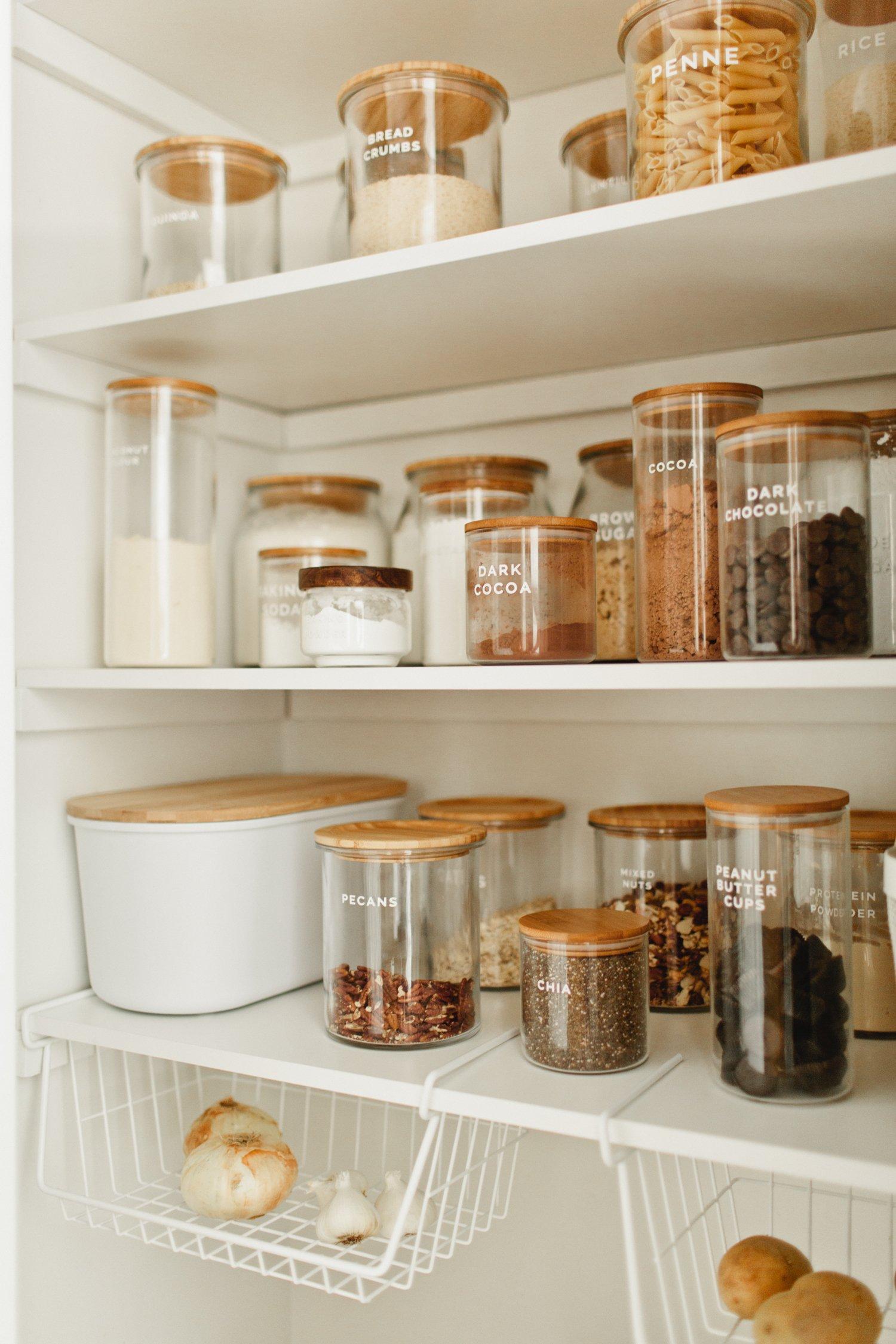 pantry storage space ideas