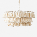 fela tassel pendant ceiling light