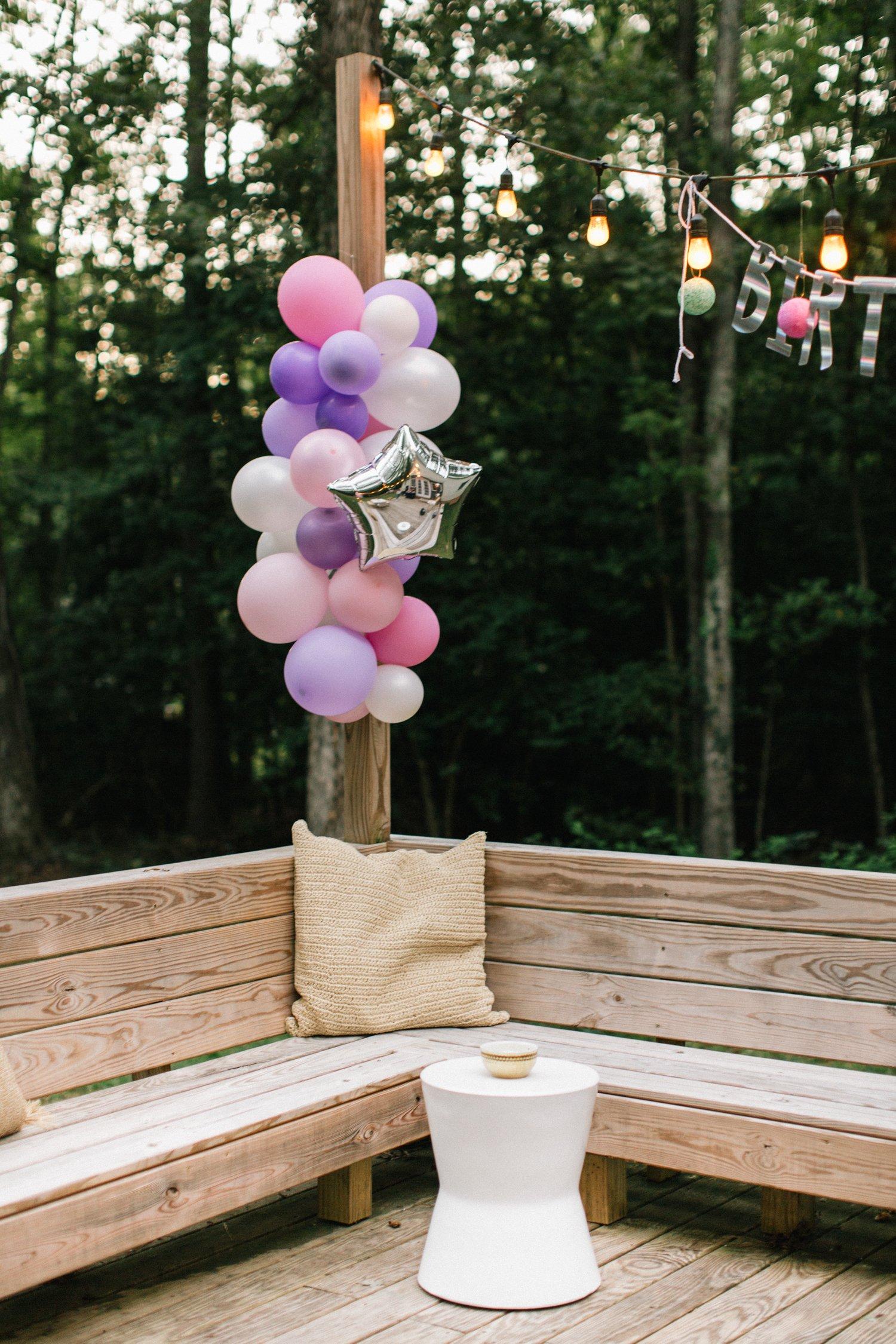 baby girl birthday party decor ideas