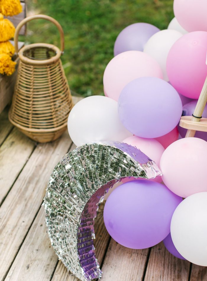 moon themed birthday party