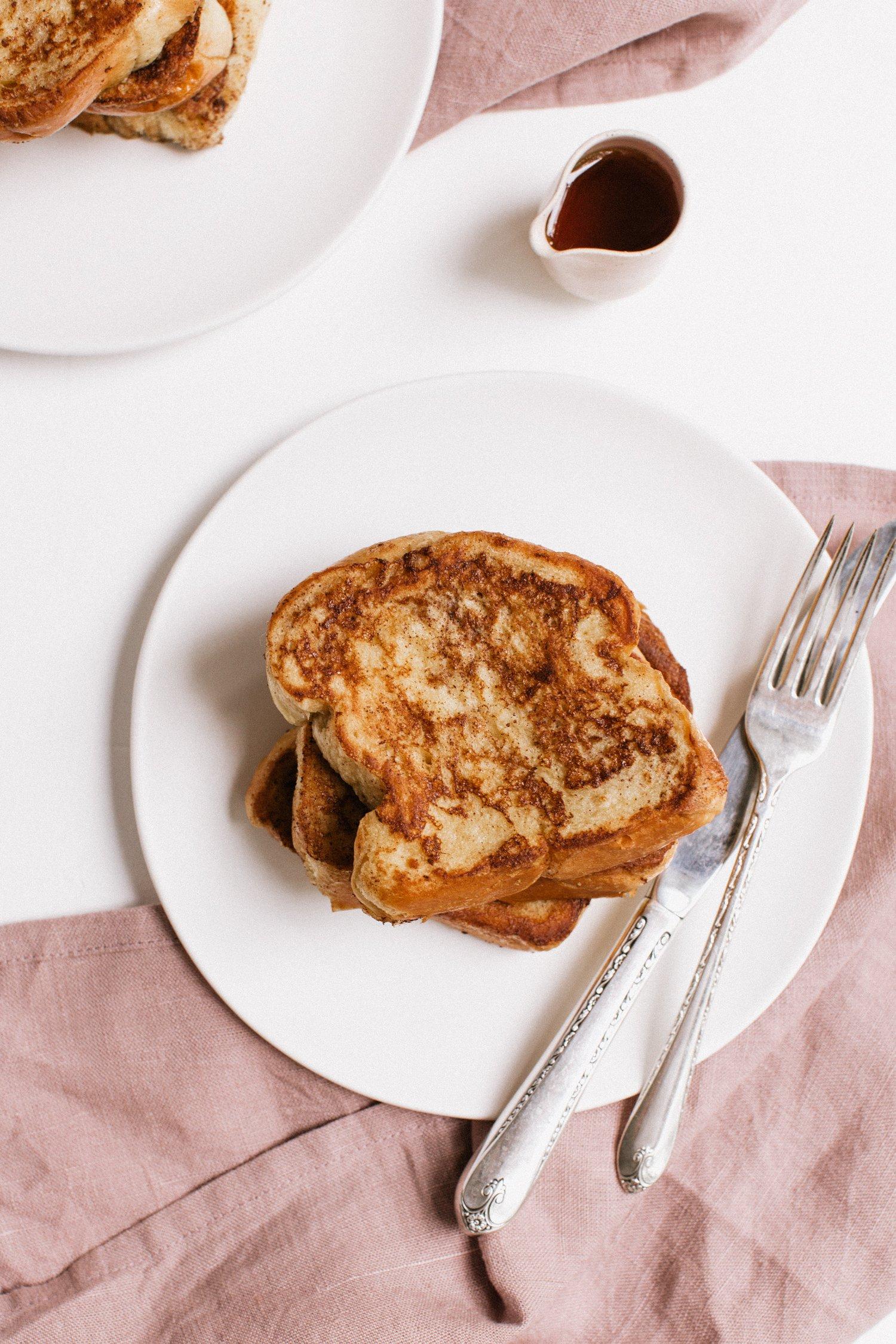 easy cinnamon brioche french toast