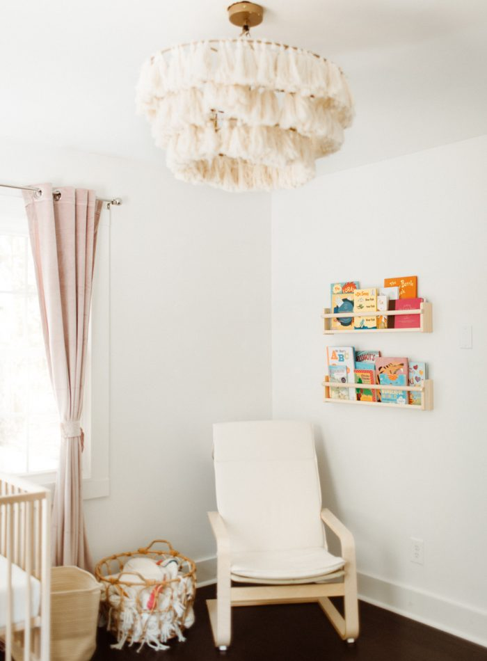 Nursery decor for girl