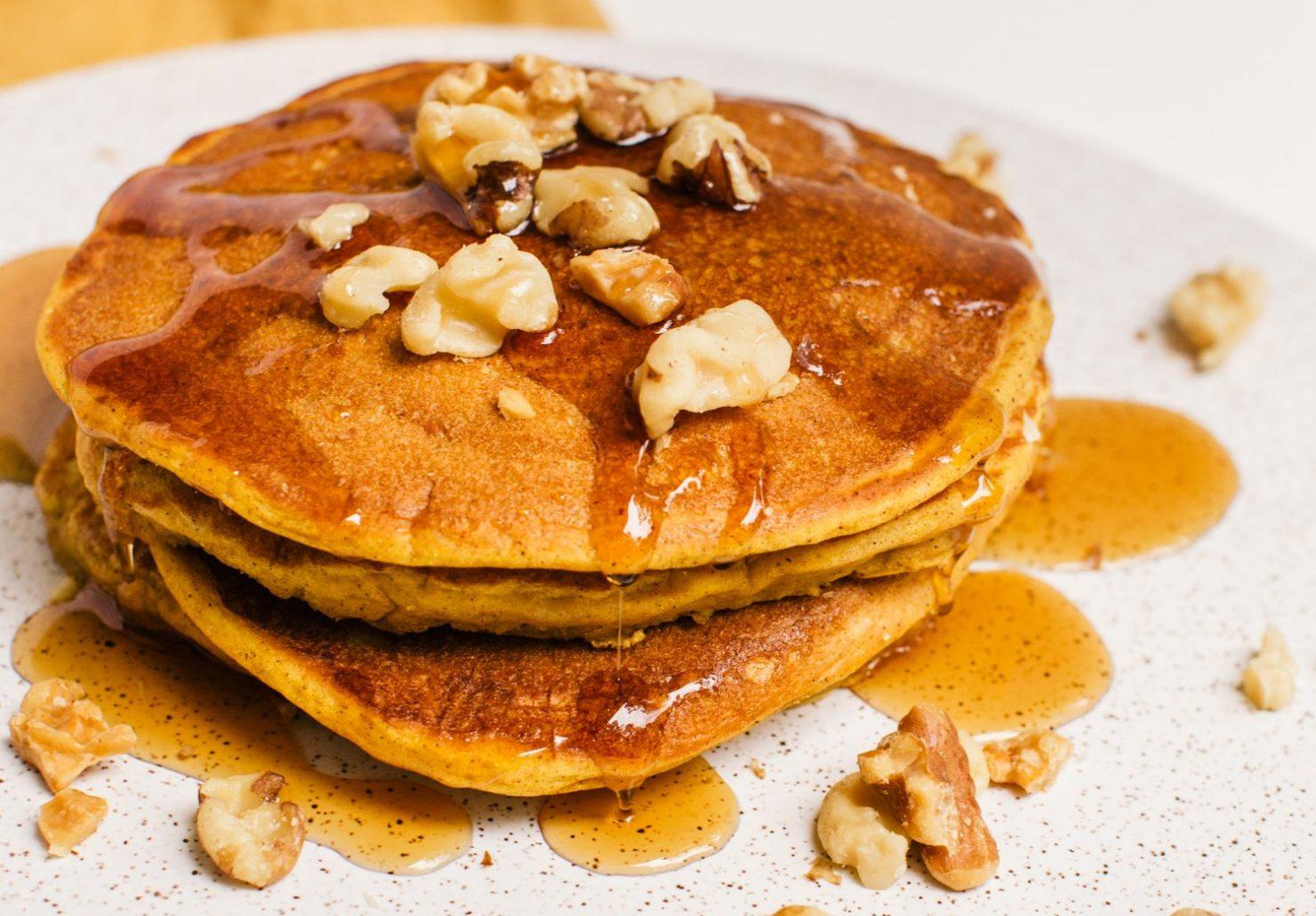 pumpkin spice pancake recipe