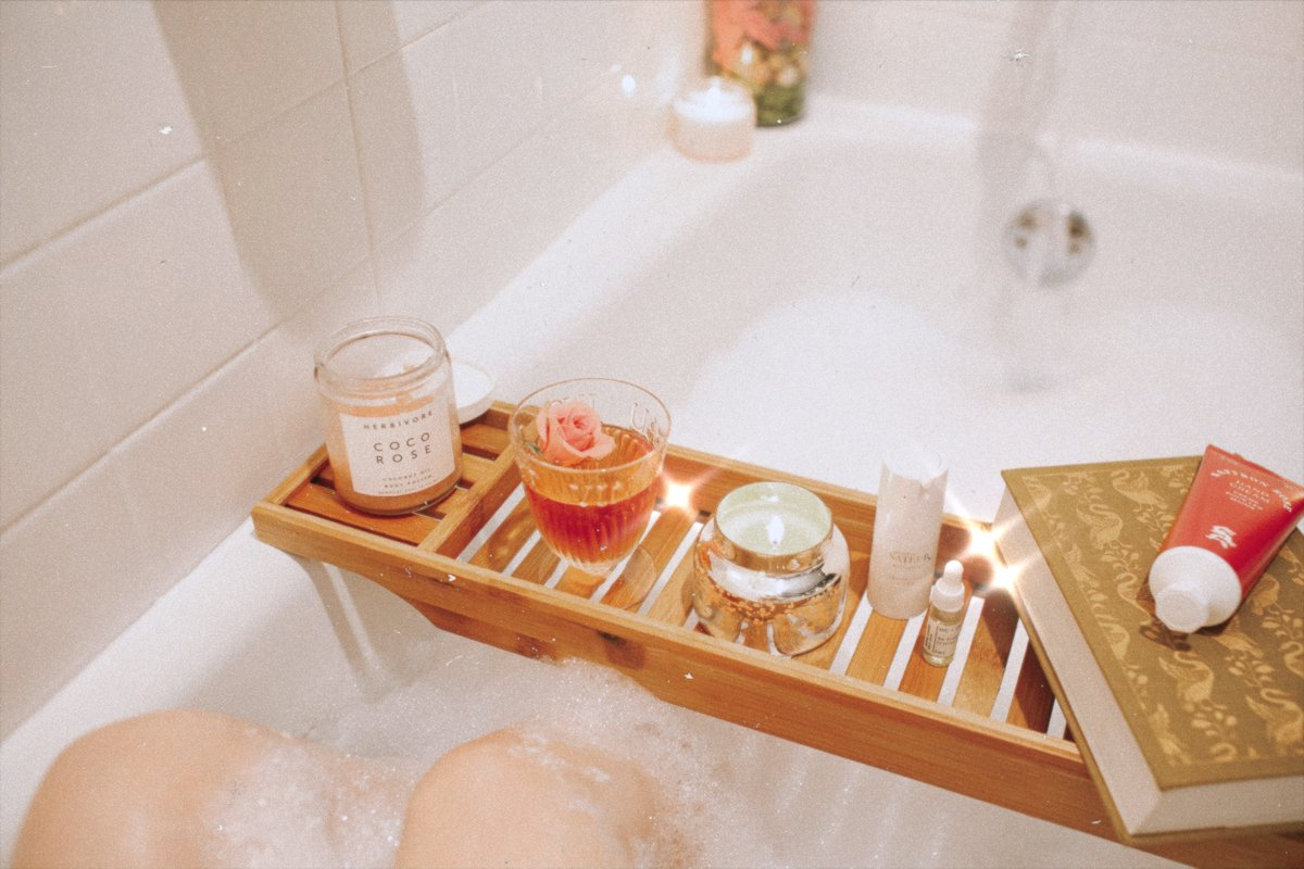 bubble bath ideas