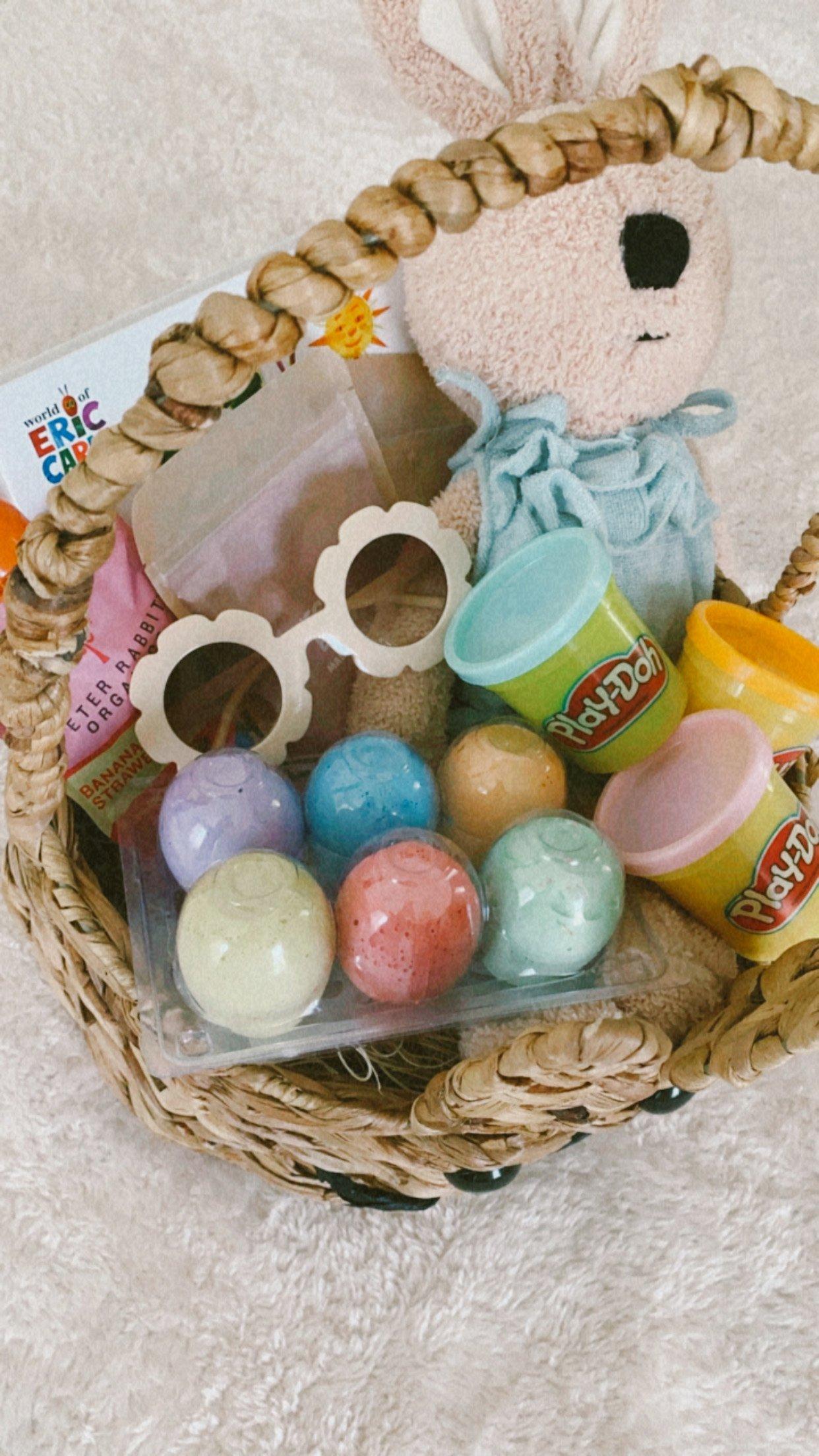 easter basket for girl