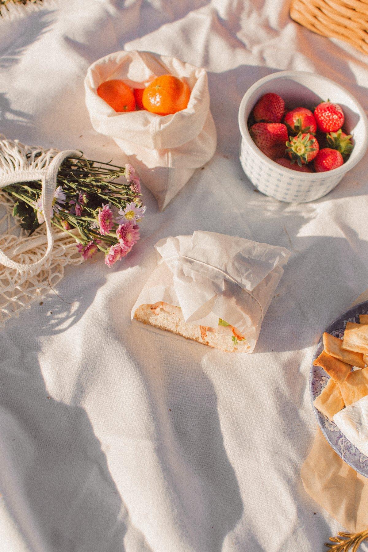 picnic food aesthetic