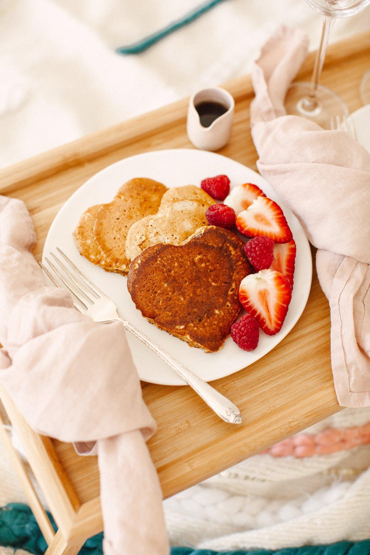 valentines day breakfast aesthetic