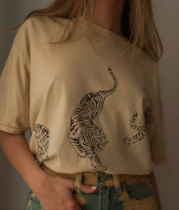 Urban Outfitters Tiger Tshirt Dress