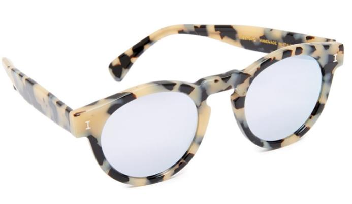 illesteva sunglasses mirrored