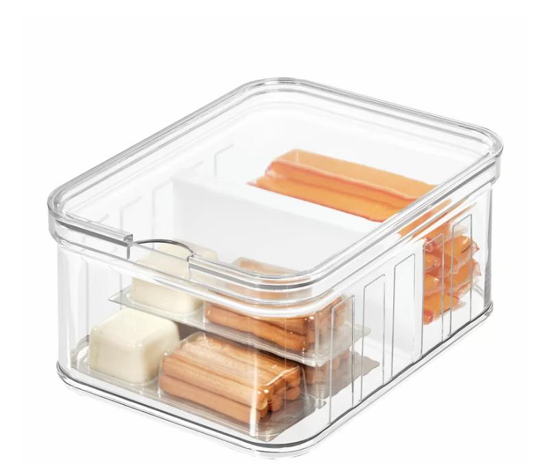 snack container storage bin