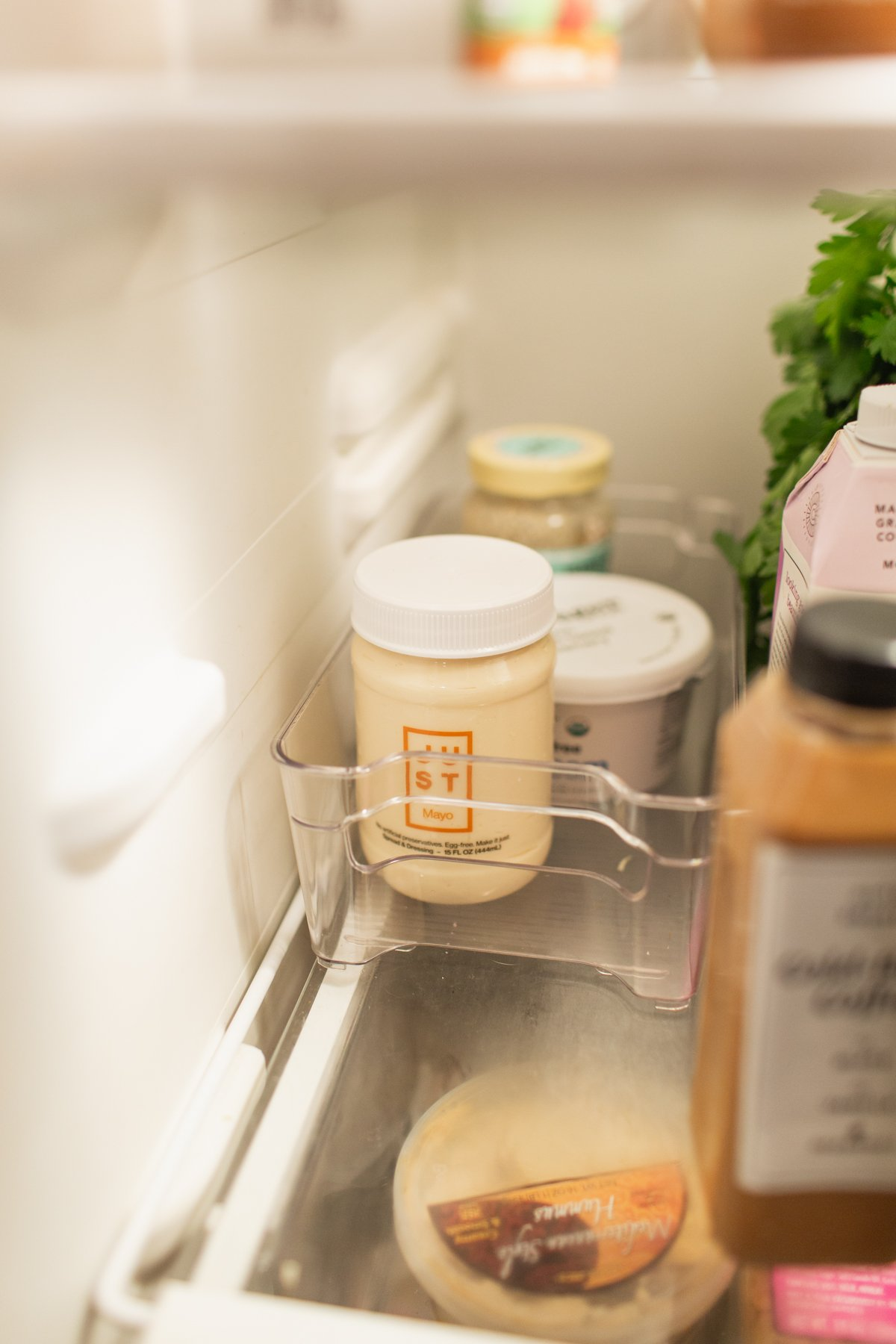 refrigerator organization containers