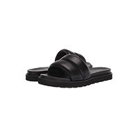 the drop quilted sandals