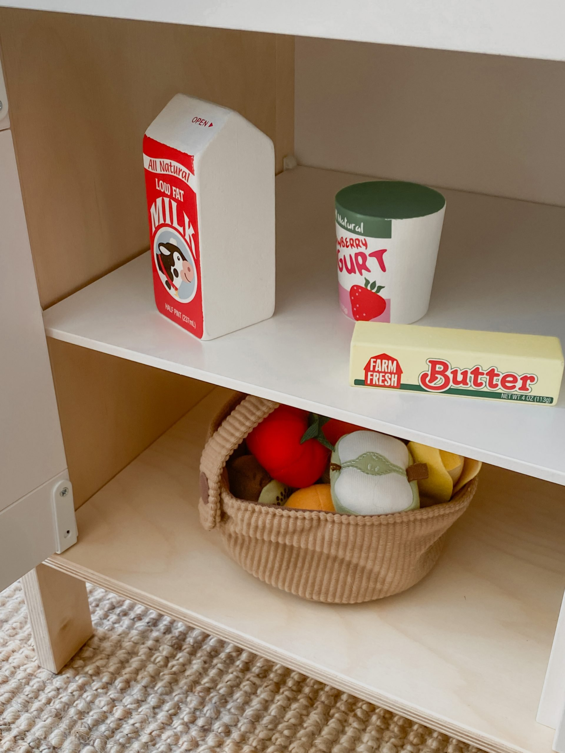 play kitchen wooden food