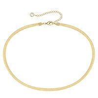 chunky gold necklace amazon