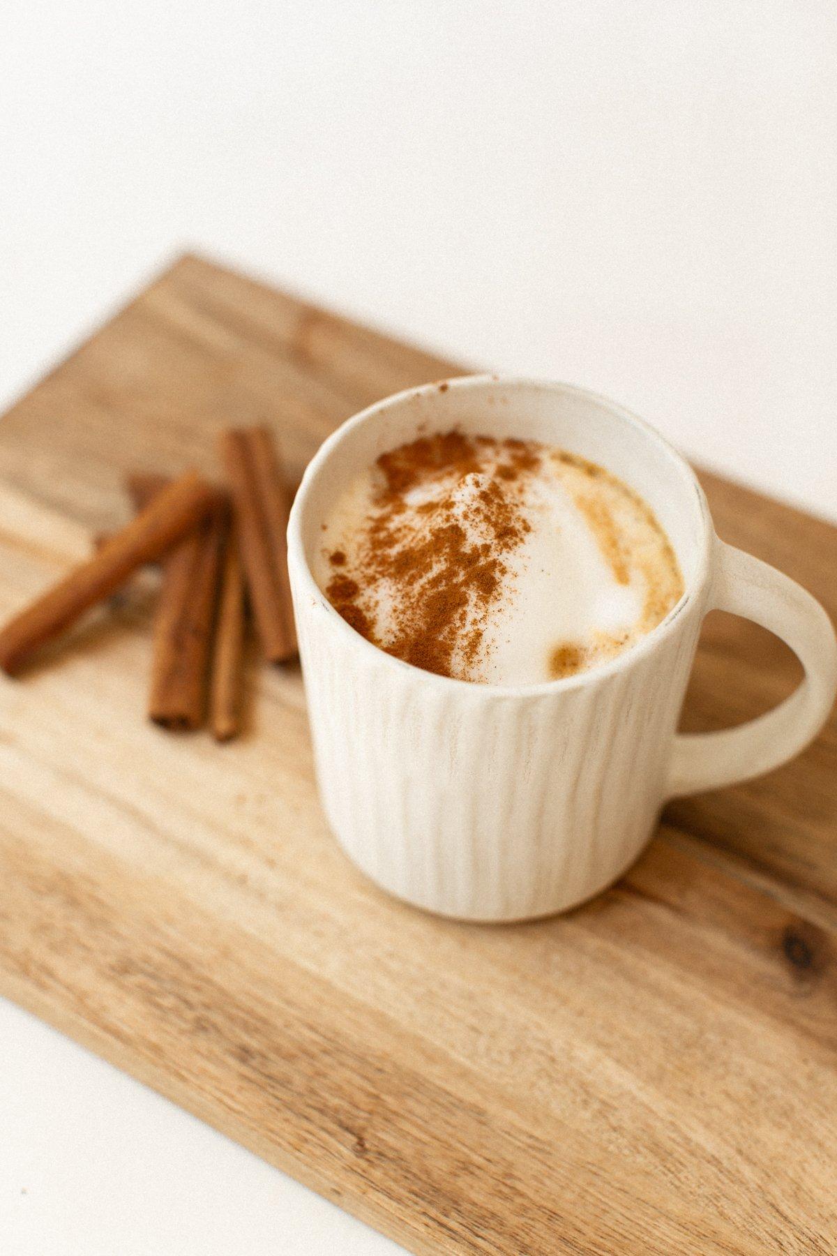 pumpkin spice latte recipe 2021