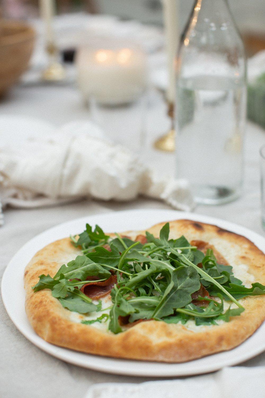 backyard pizza