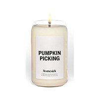 pumpkin picking candle homesick