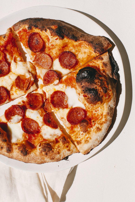 backyard pizza night