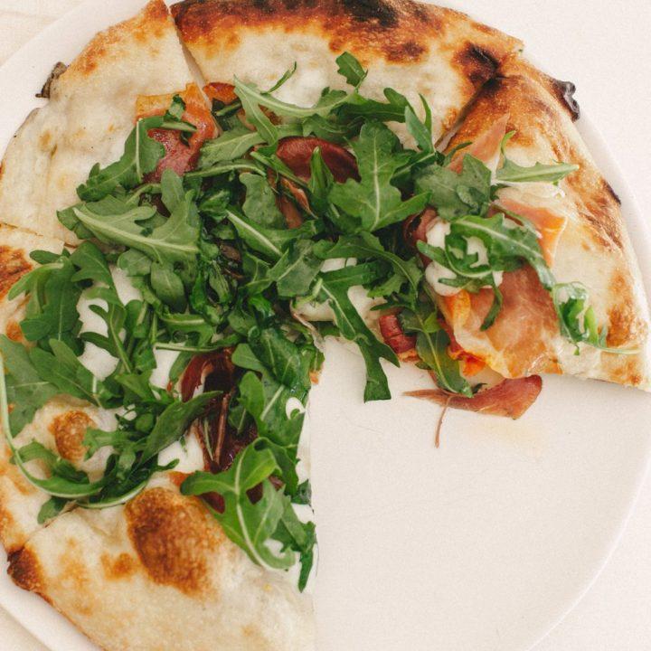 Spicy Prosciutto Pizza
